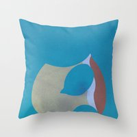 squirtle Throw Pillows featuring Squirtle by JHTY