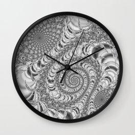 Jeweler's Dream (Silver) Wall Clock