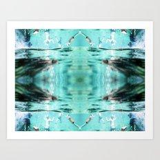 Underwater Delight Art Print
