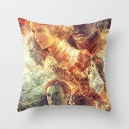 Gingerbuns Throw Pillow