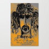 zappa Canvas Prints featuring Zappa by sladja