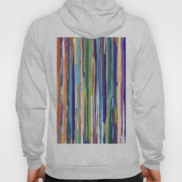 Multi-coloured Stripes 616 Hoody