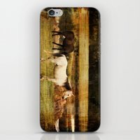horses iPhone & iPod Skins featuring Horses by Christy Leigh