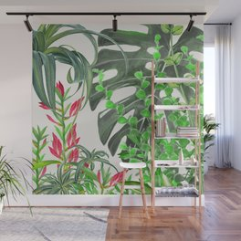 Watercolor Plants III Wall Mural