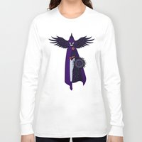raven Long Sleeve T-shirts featuring RAVEN by badOdds