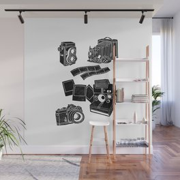 Weapons Of Mass creation - Photography (block print) Wall Mural