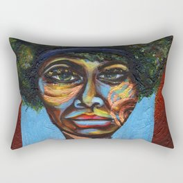 "Eunice ""Nina Simone"" Waymon Rectangular Pillow"