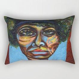 """Eunice """"Nina Simone"""" Waymon Rectangular Pillow"""