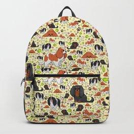 Spaniel Pattern Backpack