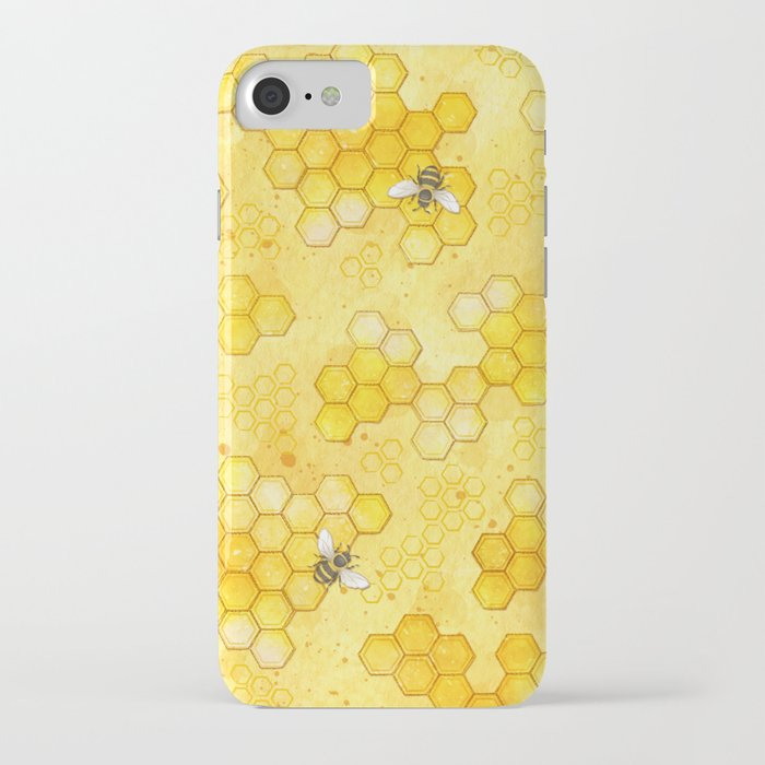newest collection 66a34 c3eeb Meant To Bee - Honey Bees Pattern Iphone Case