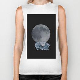 Midnight Moon of Mystery Biker Tank
