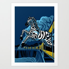 Keybra Art Print