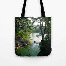 New York Central Park Lake Tote Bag