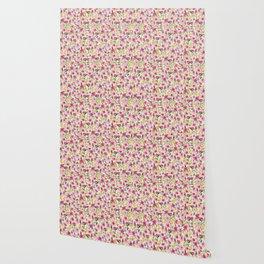 spring floral burst Wallpaper