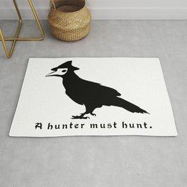 Blood The Crow A hunter must Hunt Dark Borne Souls Rug