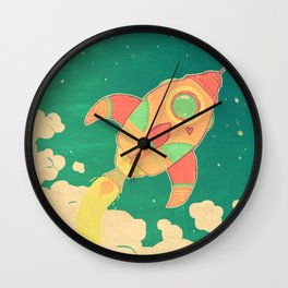 outta this world Wall Clock