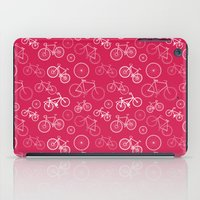 bicycles iPad Cases featuring Bicycles by Kippy