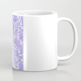 Shabby Chic purple damask Coffee Mug