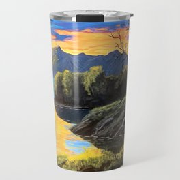 """Psalm 46:10 """"Be still and know that I am God..."""" Travel Mug"""
