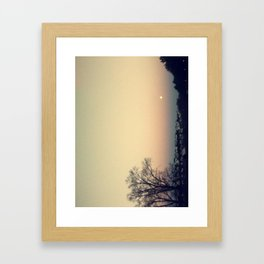 Sunset at SUNY Purchase Framed Art Print