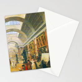 Hubert Robert Great Gallery of the Louvre Stationery Cards