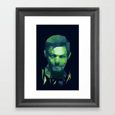 Daryl Dixon - The Walking Dead Framed Art Print