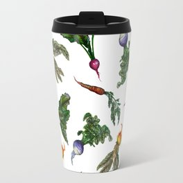 Watercolor Veggies Travel Mug