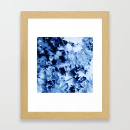 Ice Dye #1 Framed Art Print