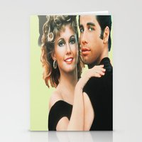 grease Stationery Cards featuring Grease  by Dora Birgis