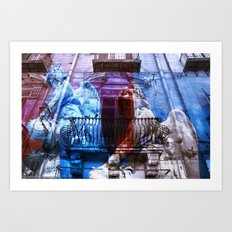 City of Angels - Palermo - Sicily Art Print