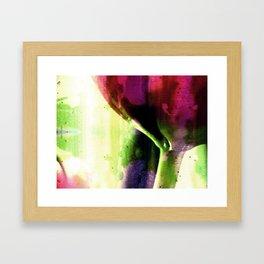 sweet spring perfume Framed Art Print