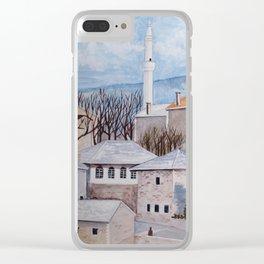 Mostar, Bosnia Clear iPhone Case