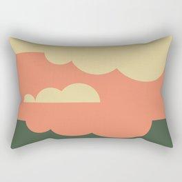 Pantone Colors Autumn Sky Rectangular Pillow
