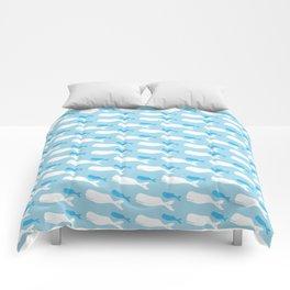 kaikoura whales Comforters