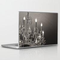 chandelier Laptop & iPad Skins featuring Chandelier  by Nicole Webb