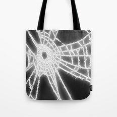 Surrealistic Spider Web Tote Bag