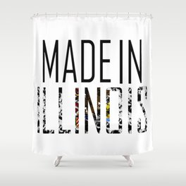 Made In Illinois Shower Curtain
