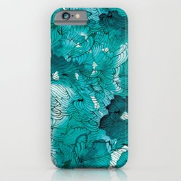 Blue depths iPhone Case