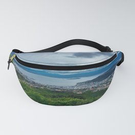 Wellington City And Harbour Landscape Fanny Pack