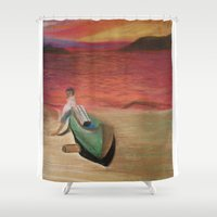 colombia Shower Curtains featuring Santa Marta, Colombia 2003 by Viator