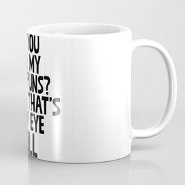 Do You Like My Bad Puns? Coffee Mug
