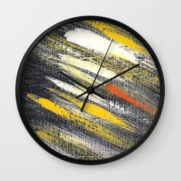 Cosmic yellow YG Wall Clock