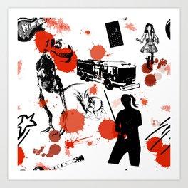 """""""Boy's"""" Tile 1 Art Print"""