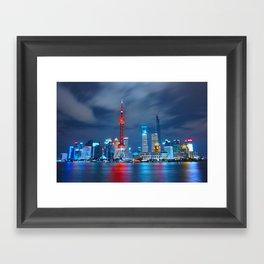 Shangai, China Framed Art Print
