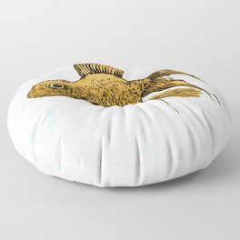 Goldfish Floor Pillow