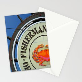 Fisherman's Wharf Stationery Cards