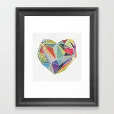 Heart Graphic 5 Framed Art Print