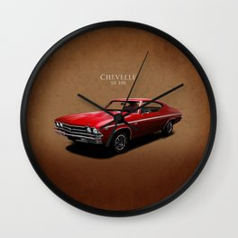 Chevelle SS 396 Wall Clock