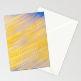 Poplar Trees in Autumn 2 Stationery Cards