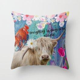Eclectic Inspiration Throw Pillow